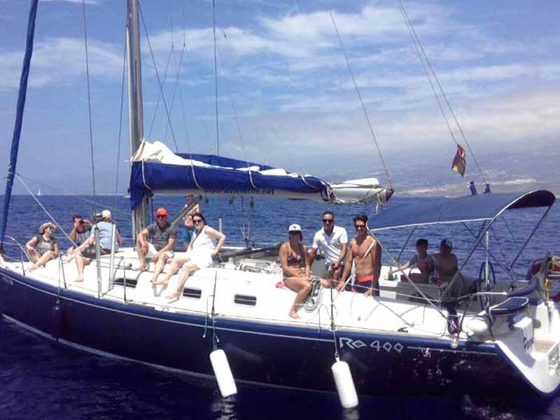 Whale Watching Teneriffa-Exquisit Segelyacht Pecazul