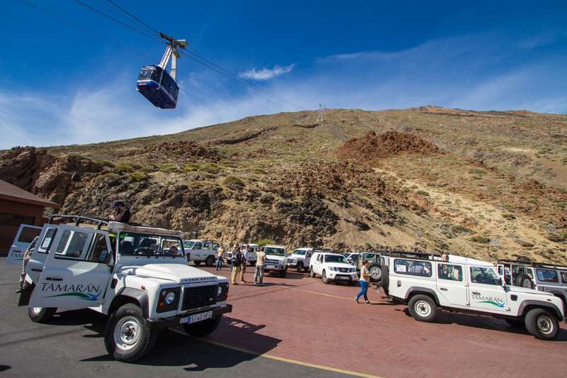 red line event teneriffa jeep safari halbtag plus seilbahn 2