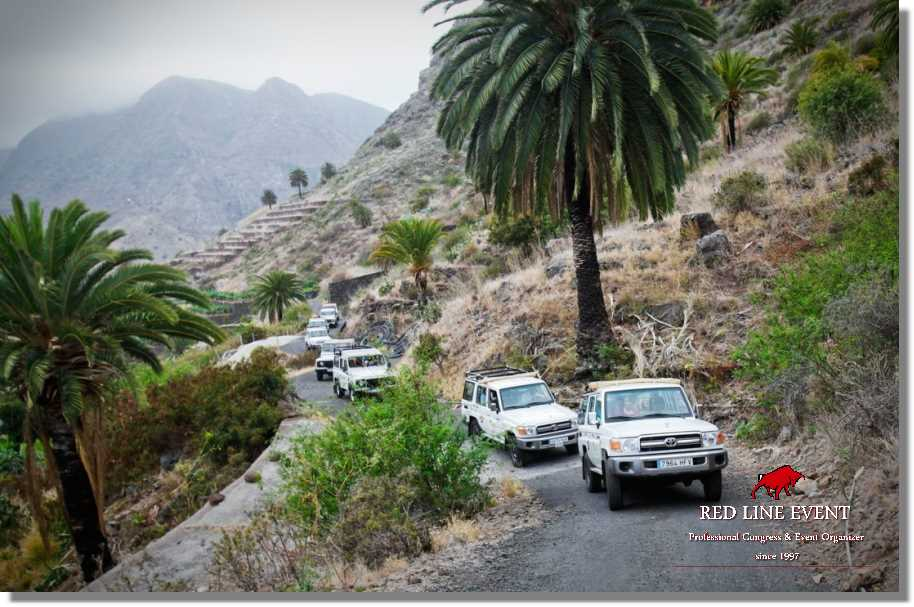 red line teneriffa jeep safaris la gomera 02