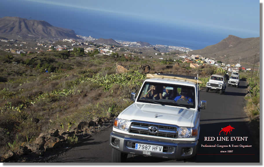red line teneriffa jeep safaris teide 01