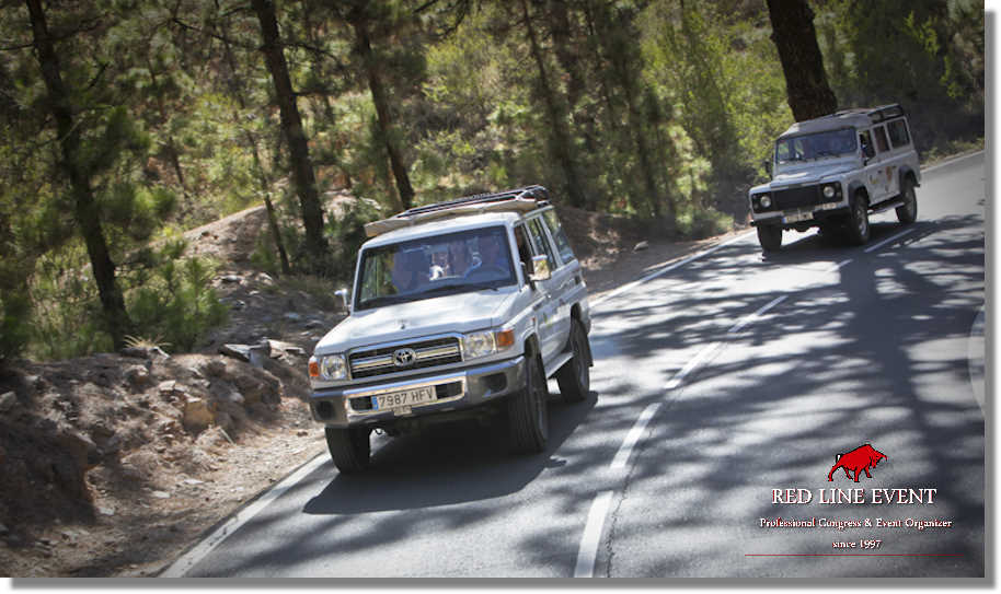 red line teneriffa jeep safaris teide 05