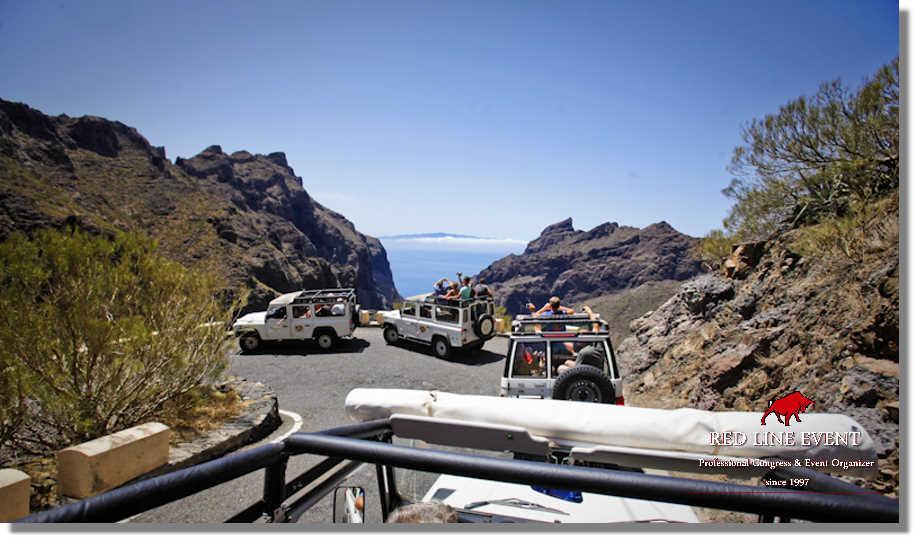 Ausflug Jeep Safari Teneriffa