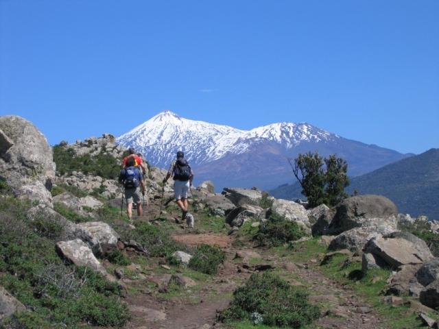 Teneriffa Sonntag Wandertour Teno Gebirge
