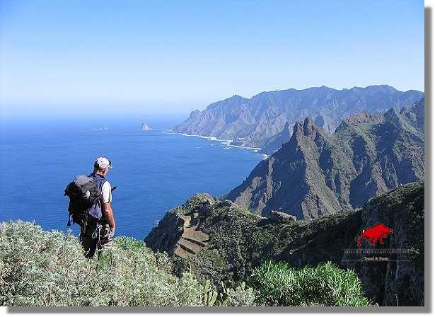 Hiking and hiking holidays for Tenerife