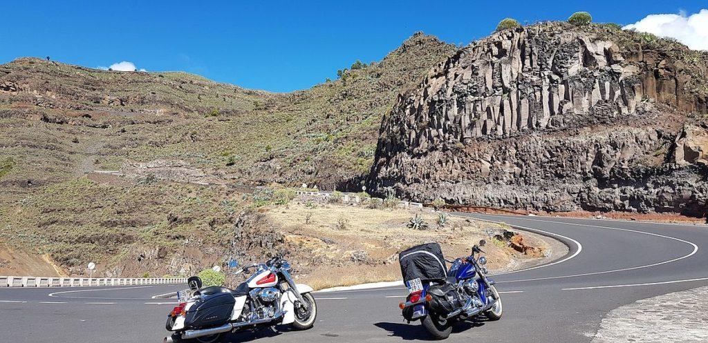 Teneriffa Kreuzfahrt Tagesausflug Motorrad