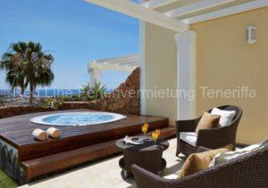Teneriffa. Luxuriöses Ferienhaus mit Jacuzzi im 5 Sterne Resort Hotel Villa Maria Suites