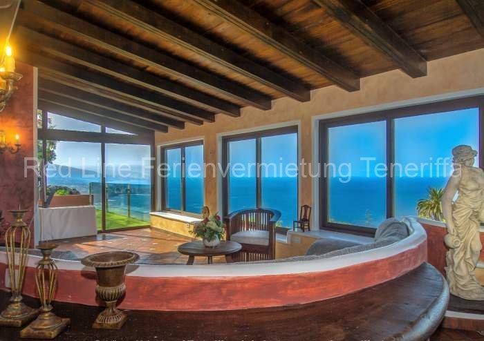 Teneriffa - Urgemütliches, luxuriöses Ferienhaus in Santa Ursula mit wundervollem Blick.