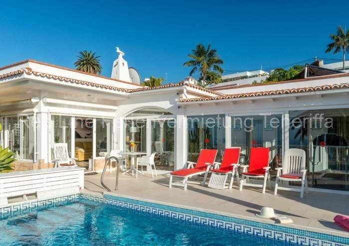 Teneriffa - Schöne Luxus-Ferienvilla mit Privatpool und fantastischem Blick in Santa Ursula