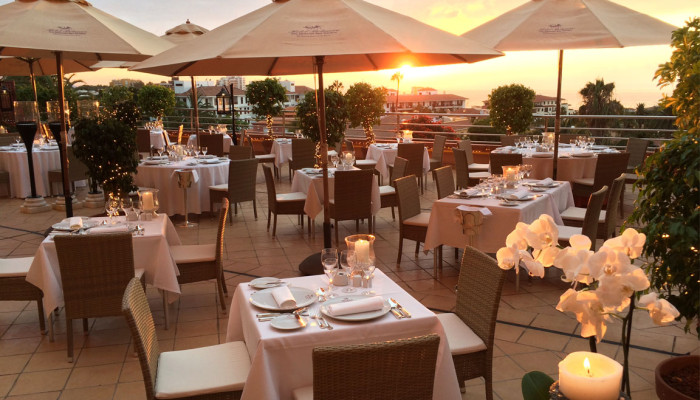Luxushotel Botánico Restaurant  Il Pappagallo