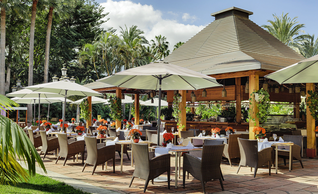 Luxushotel Botánico Restaurant La Palmera Real