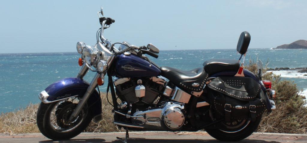 Harley-Davidson Heritage Softail Vermietung Teneriffa