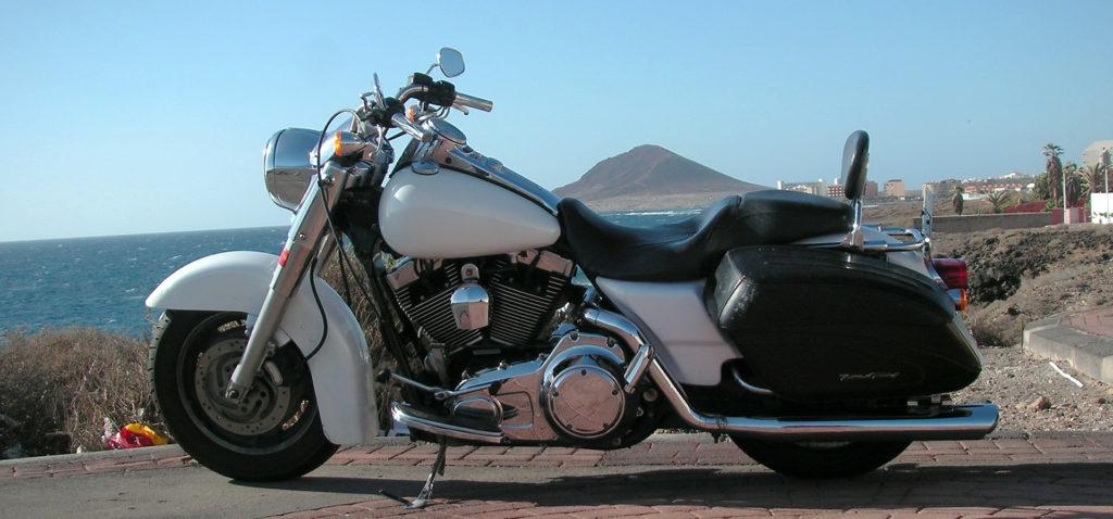 Harley-Davidson Road King Verleih Teneriffa