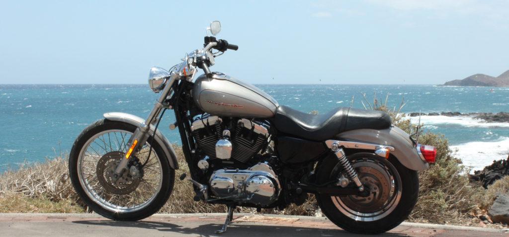 Harley-Davidson Sportster Custom Verleih Teneriffa