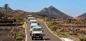 Ausflug Jeep Safari Lanzarote Vulkanroute